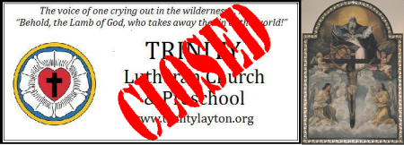 TrinityClosedSign